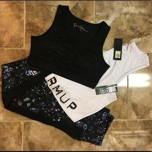 Jessica Simpson Warmup active wear bundle